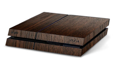 Wooden Cover PlayStation 4