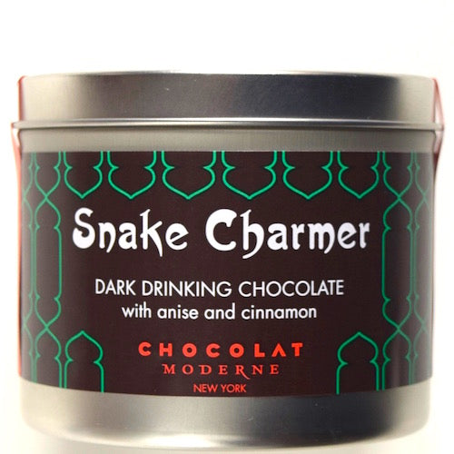 Dark Drinking Hot Chocolate with Cinnamon