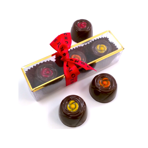 3 Piece Sleeve of Gourmet Bonbons