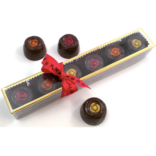 6 Piece Sleeve of Gourmet Bonbons