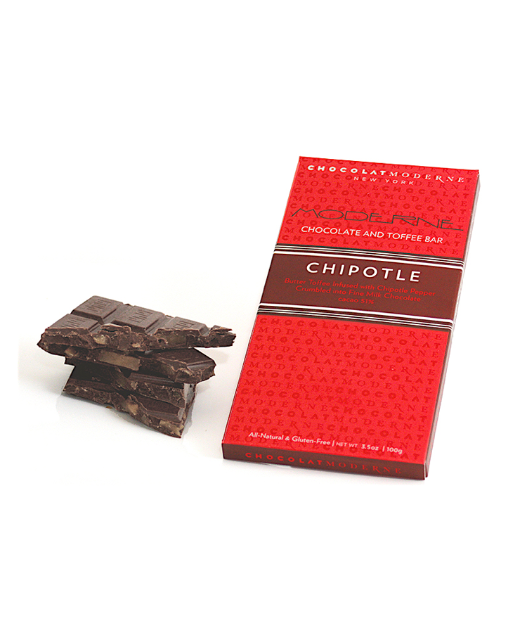 Moderne Chocolate and Toffee Bar - Chipotle