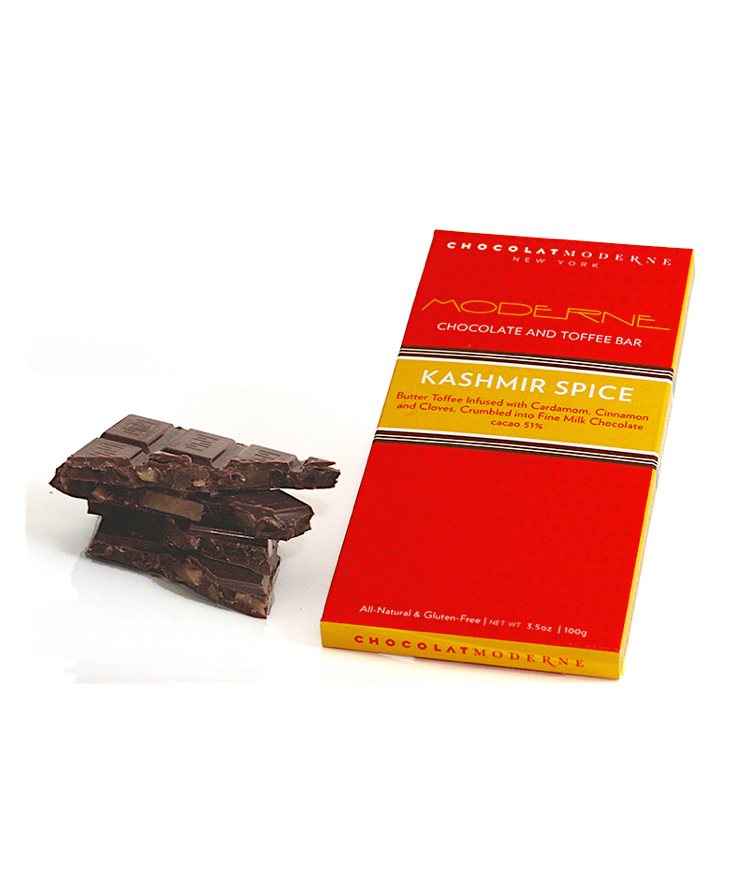 Moderne Chocolate and Toffee Bar - Kashmir Spice