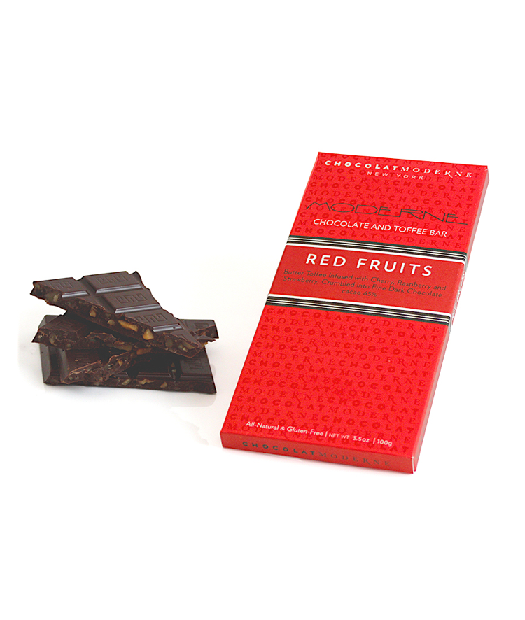 Moderne Chocolate and Toffee Bar - Red Fruits