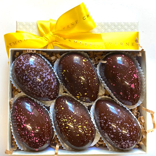 Vegan Easter Eggs 6-Piece Box