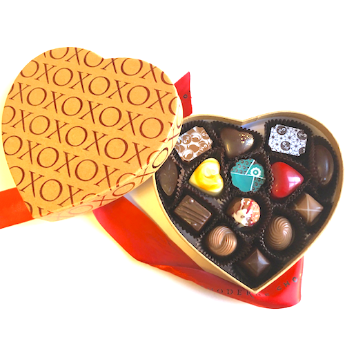 XO Heart 14-Piece Box