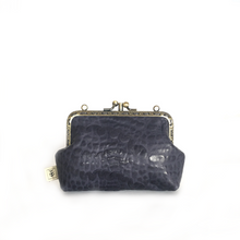 Load image into Gallery viewer, Grey Merino Double Purse, 12cm
