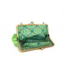 Load image into Gallery viewer, Apple Green Deer Double Purse, 15cm