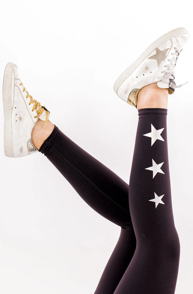 Plum Activewear Leggings w/ Star Detail
