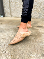 tan-faux-fur-lined-mules-sequin-joggers-holiday-chic-holiday-party-outfit-holiday-glam-shop-style-your-senses-by-mallory-fitzsimmons