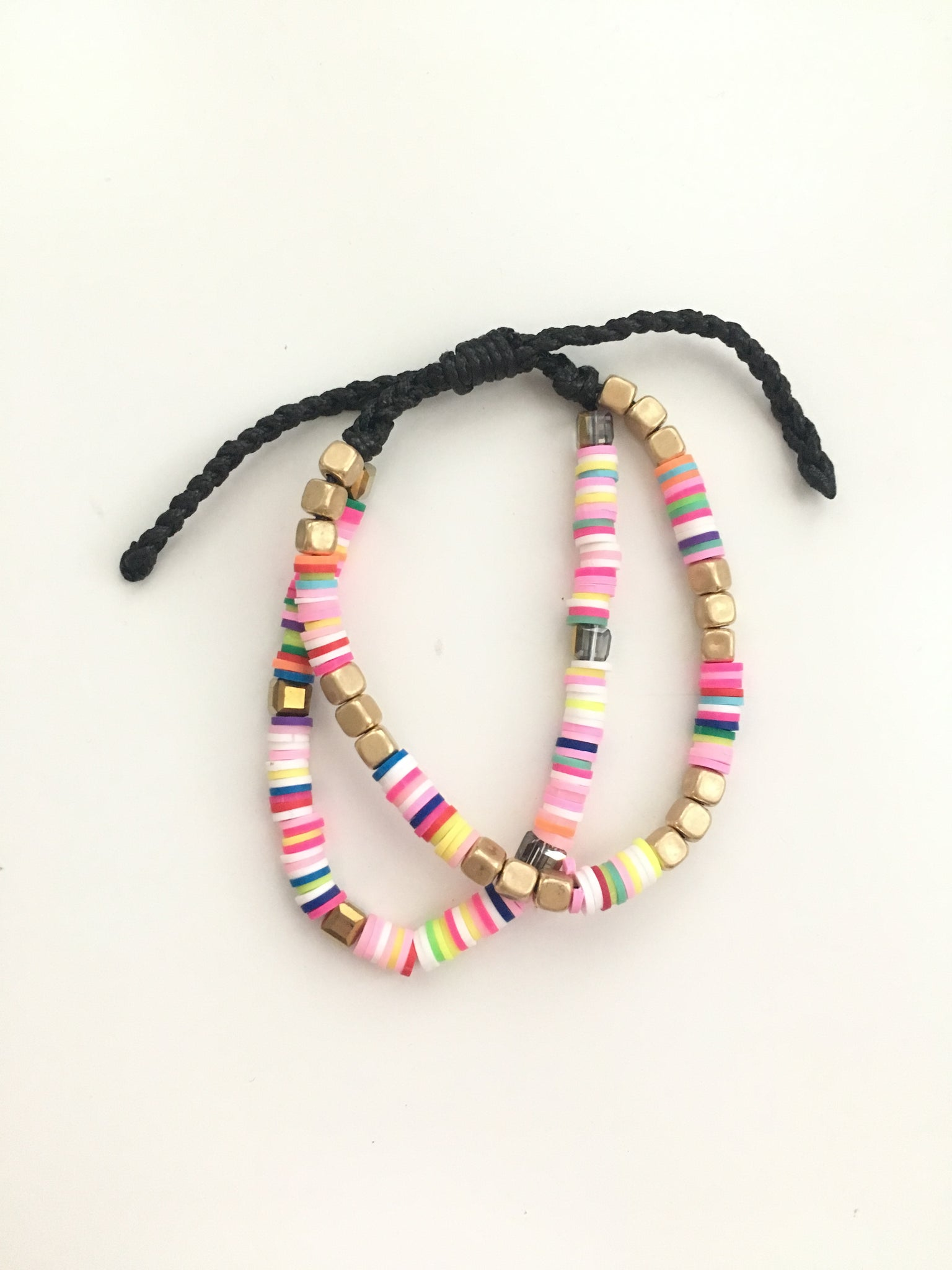 Colorful Beaded Pull Bracelet