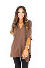 Oversized Dolman Knit Tunic