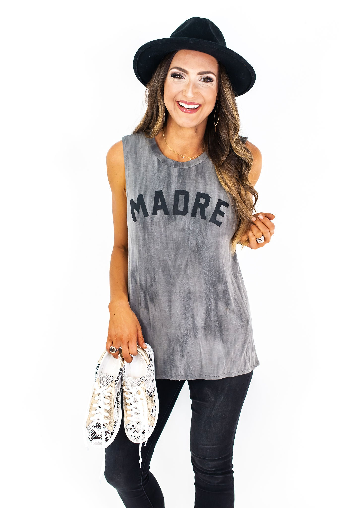 Madre Sleeveless Graphic Tee