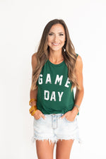 "Green ""Gameday"" Tank"