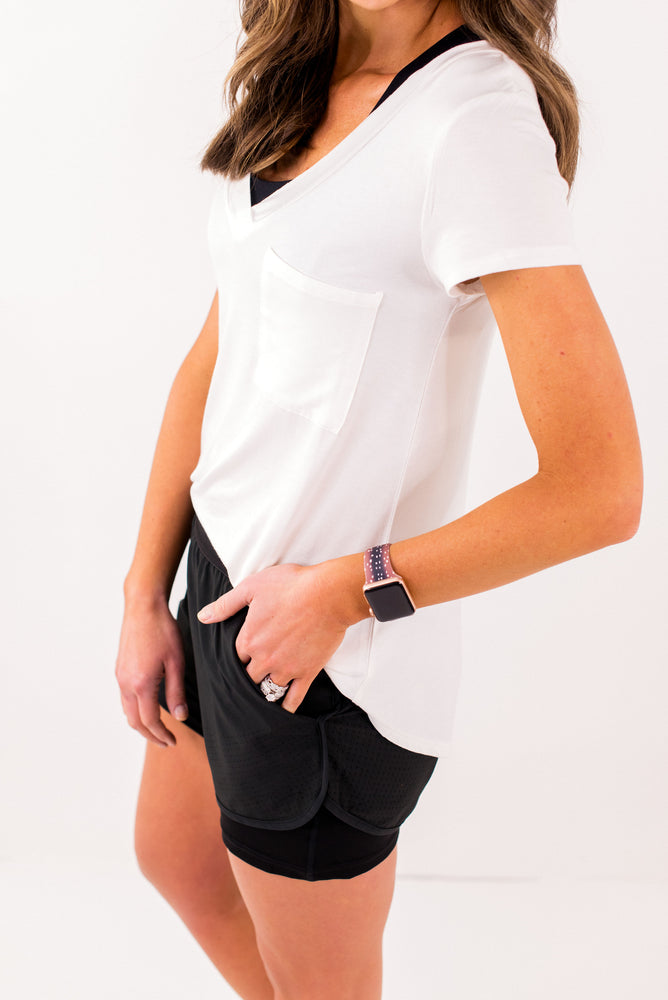 shop-style-your-senses-by-mallory-fitzsimmons-white-deep-v-neck-tee-w-pocket-basic-tees-womens-affordable-athleisure-activewear-fashion-clothing