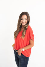 red V-neck dolman tee, red top, red game day top, red tailgate outfit, red tailgate top, SEC, Big 12, Big Ten, style your senses, Texas Tech, TTU, Oklahoma, OU, Alabama, Georgia, Iowa State, Arkansas, Arizona, Ohio State, Nebraska, Louisiana Tech, North Carolina State, SMU, Southern Methodist, Louisville, Cornell, Harvard