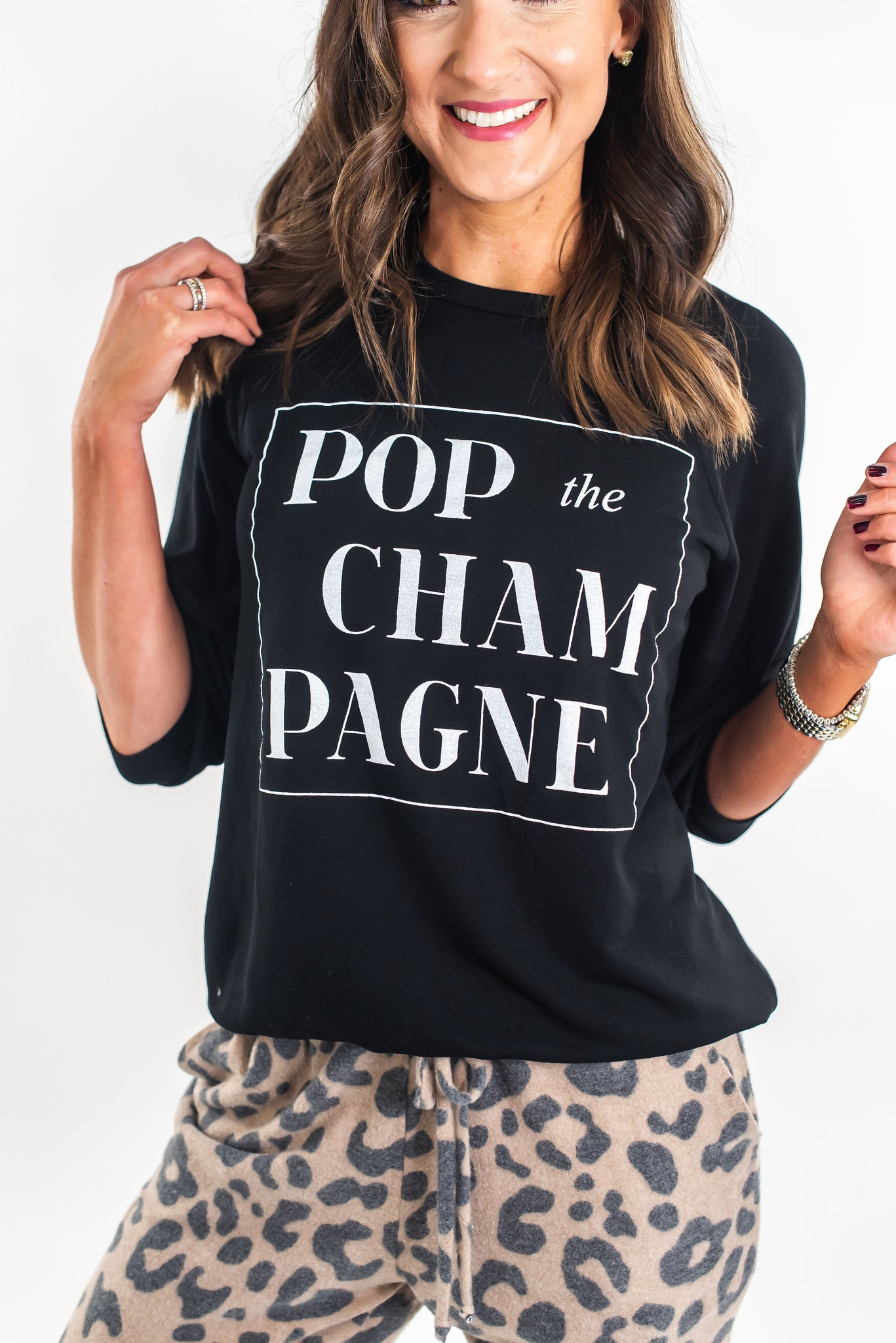 Pop the Champagne Sweatshirt