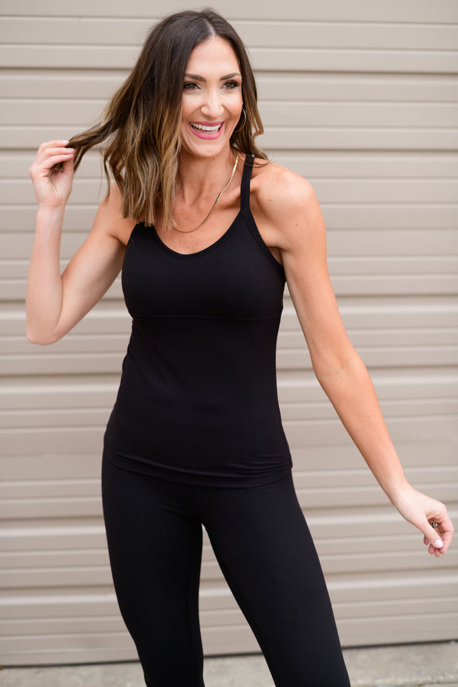 black capri leggings, workout wear, affordable athleisure, shop style your senses by mallory fitzsimmons
