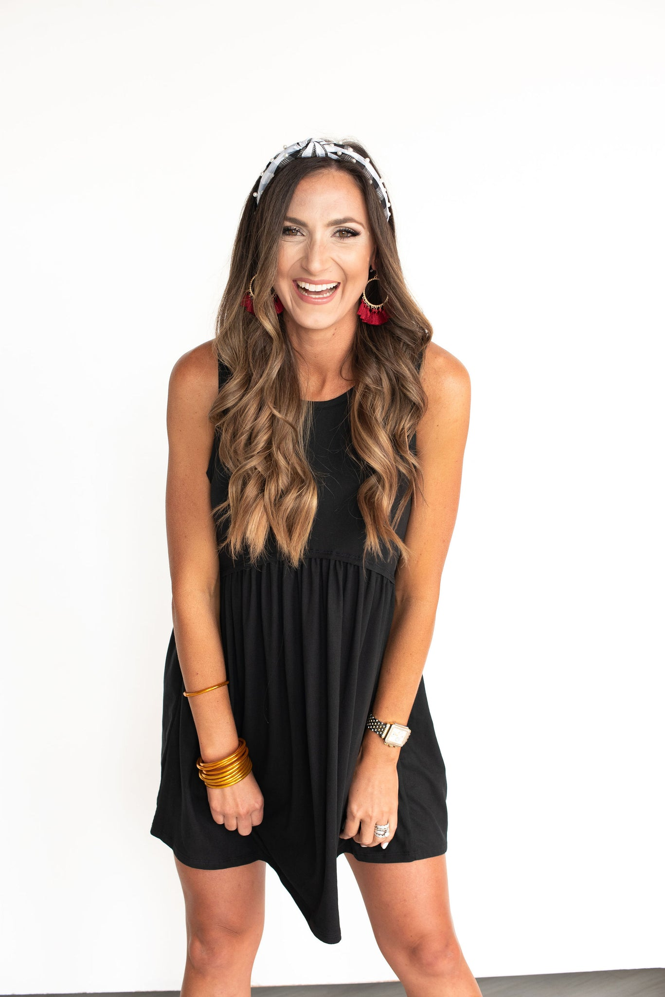 Black Tank Knit Dress