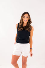shop-style-your-senses-by-mallory-fitzsimmons-white-double-layer-running-shorts-womens-affordable-activewear-basic-shorts