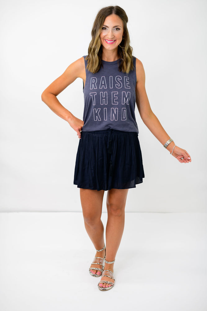 Charcoal Raise Them Kind Tank