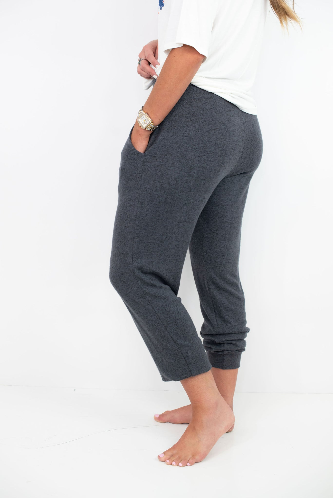 Brushed Jogger Pants