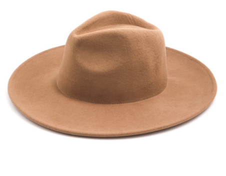 Tan Wool Hat