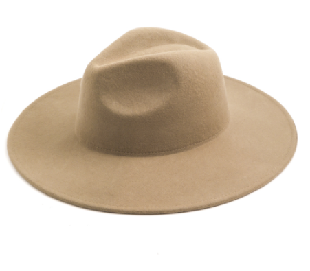 Load image into Gallery viewer, Khaki Wool Hat