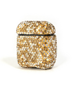 Gold Bling Airpod Case