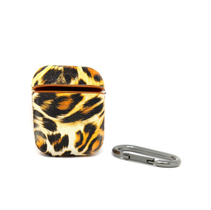 Tan Animal Print Airpod Case *FINAL SALE*