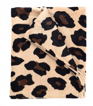 Load image into Gallery viewer, Oversized Animal Print Fleece Blanket *FINAL SALE*