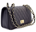 Black Quilted Handbag (2nd gen)