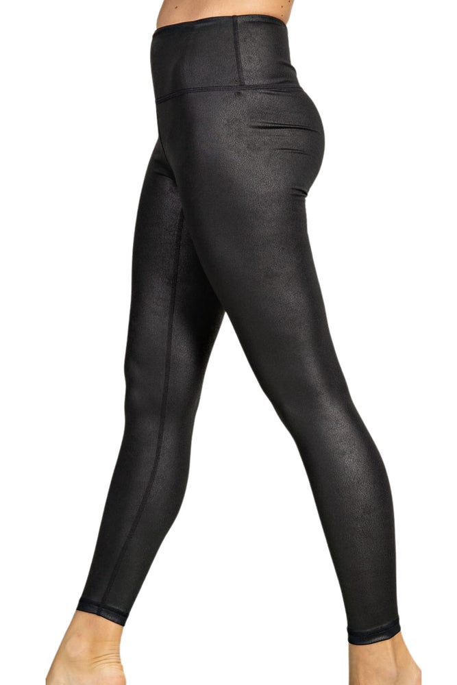 Black Faux Leather Leggings *FINAL SALE*
