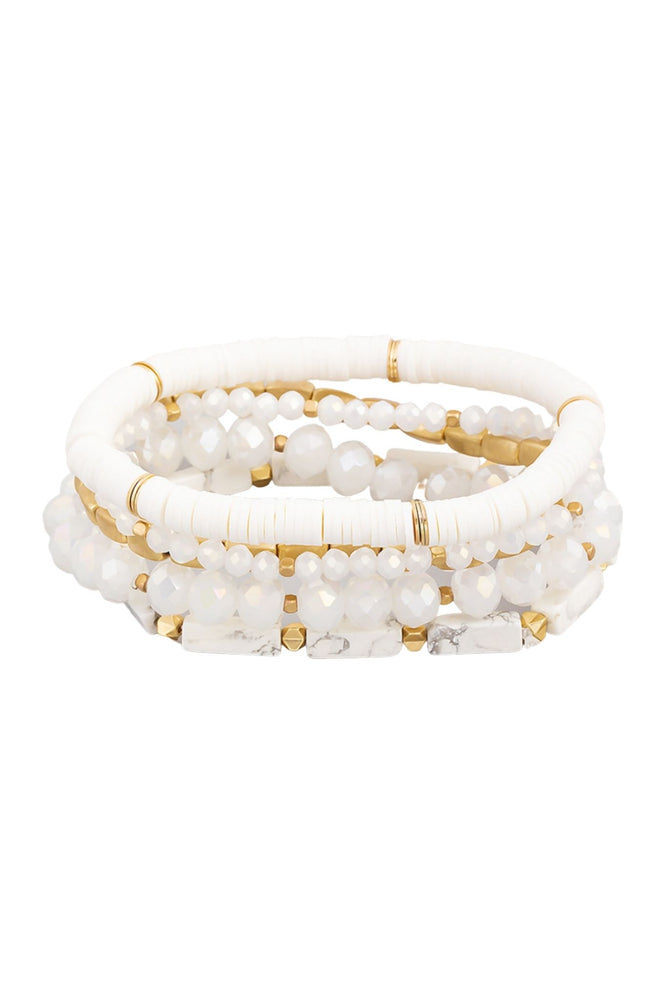 white-mixed-material-bracelet-set-affordable-accessories-trendy-jewelry-bracelet-set-stackable-bracelets