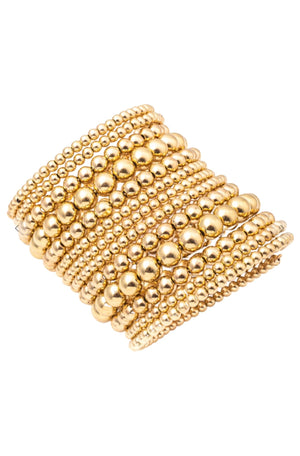 Gold Bubble Wrap Bracelet