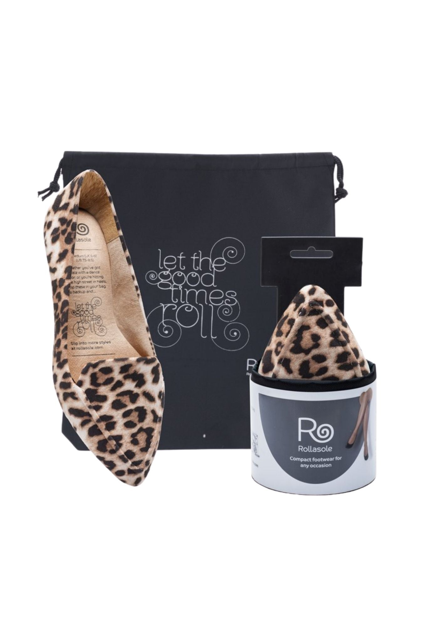 Animal Print Into The Wild Travel Flats
