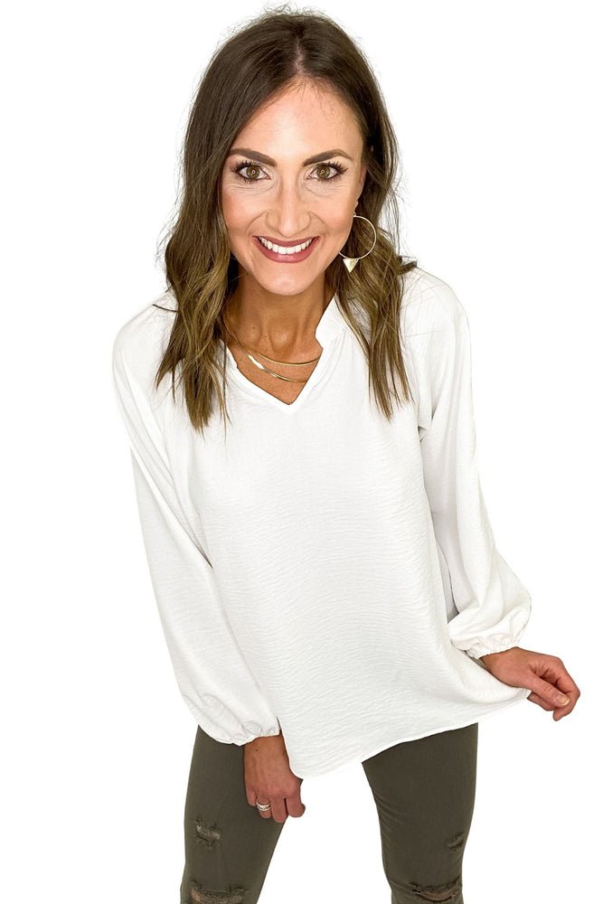ivory-v-neck-long-puff-sleeve-top-elevated-basic-spring-outfits-new-arrivals-mom-style-shop-style-your-senses-by-mallory-fitzsimmons