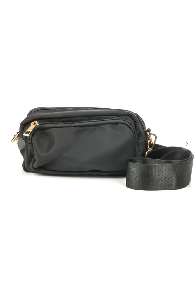 Black Crossbody Pouch Purse