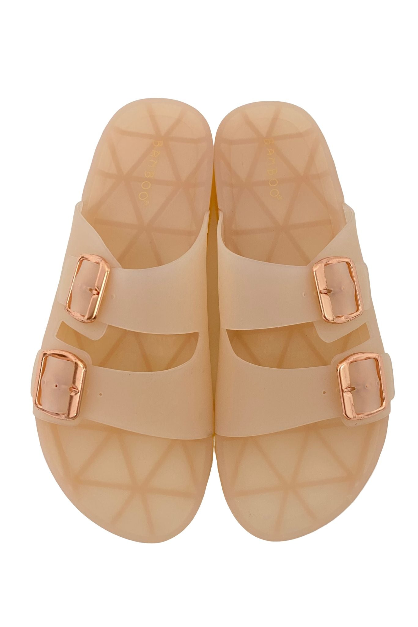 Pale Pink Jelly Sandals