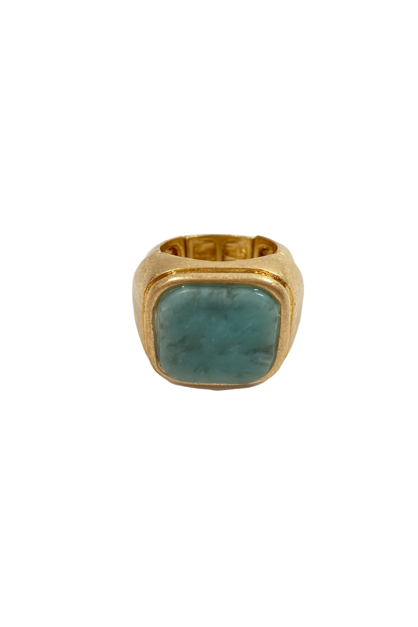 Marbled Turquoise Ring