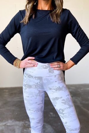 white camo compression leggings, athleisure, shop style your senses by mallory fitzsimmons