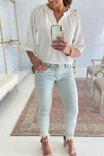 acid wash skinny jeans, spring denim trends, shop style your senses. mallory fitzsimmons