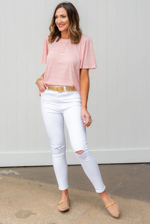 white skinny jeans, white distressed jeans, shop style your senses