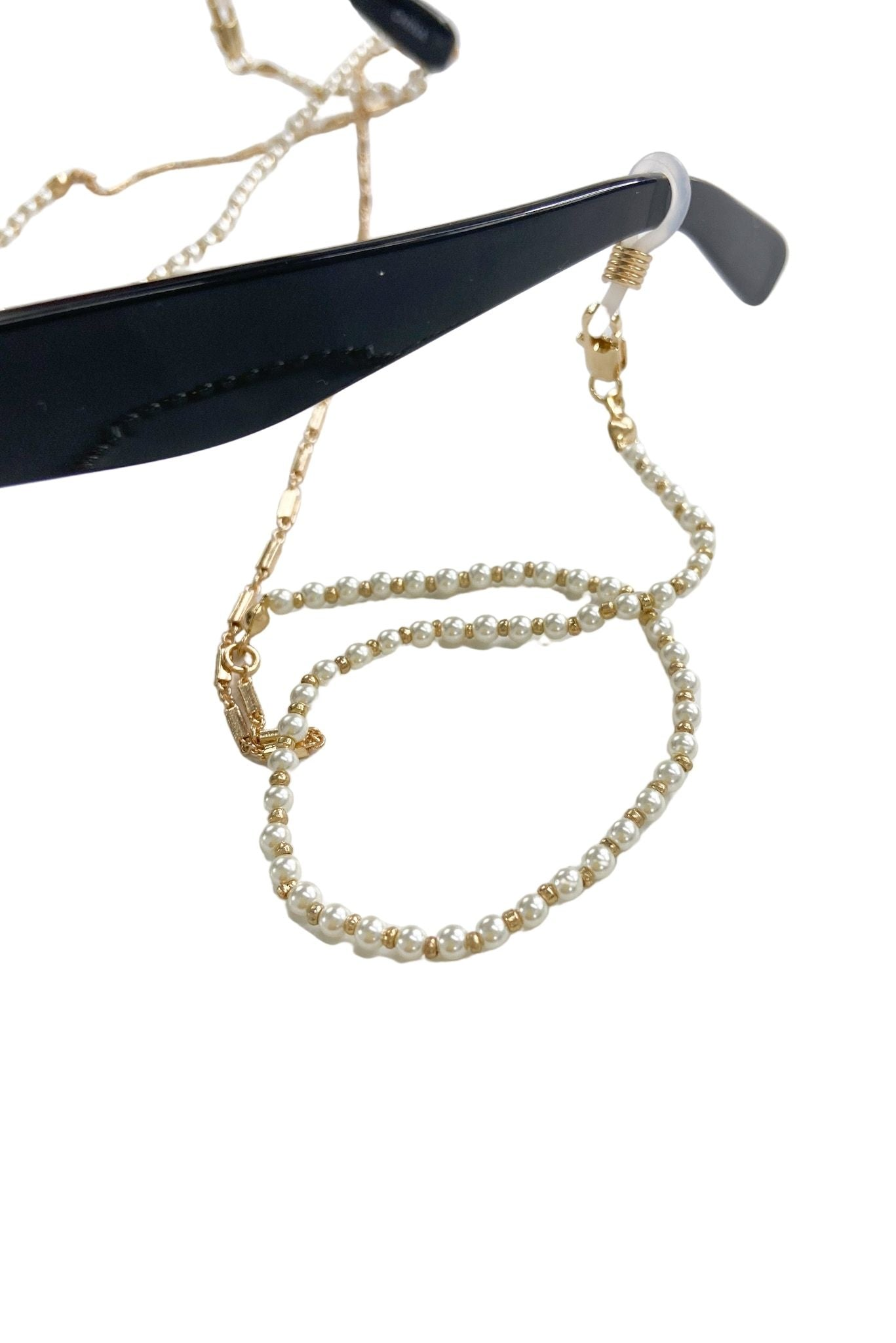 Pearl Beaded Sunglasses Chain