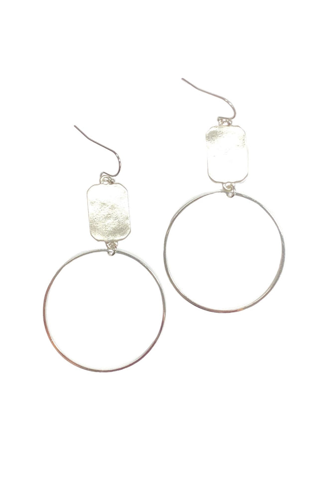 Load image into Gallery viewer, Silver 2020 Signature Earrings
