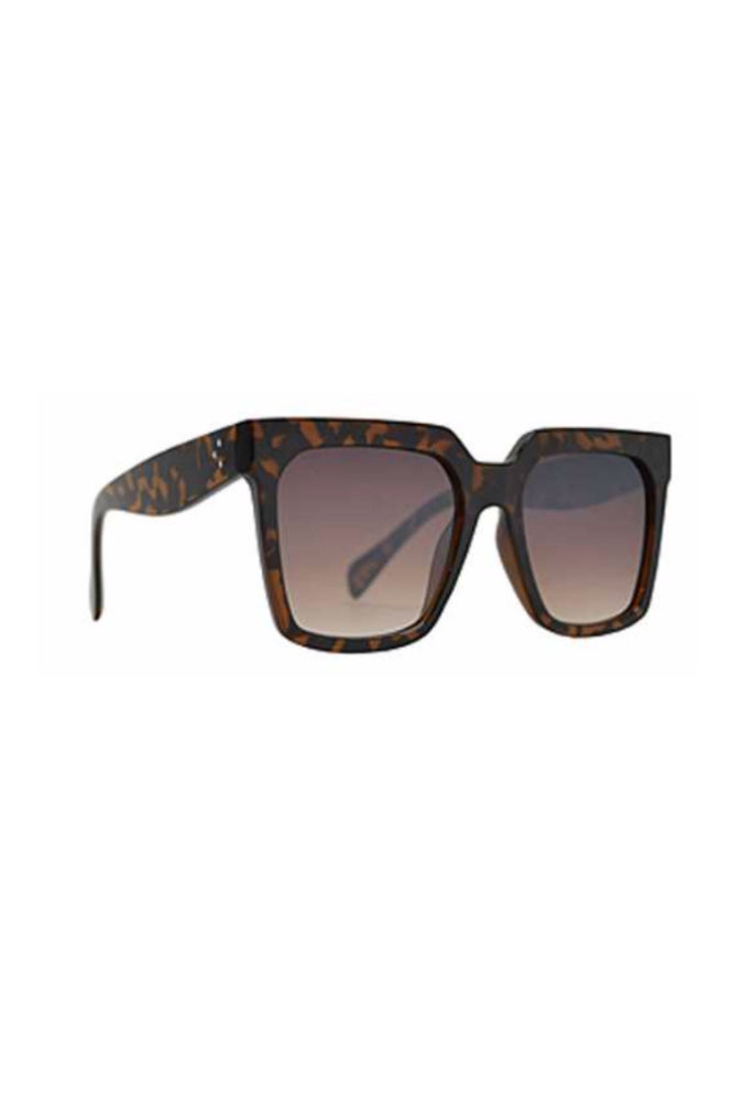 Load image into Gallery viewer, Brown Tortoise Shell Oversized Square Frame Sunglasses