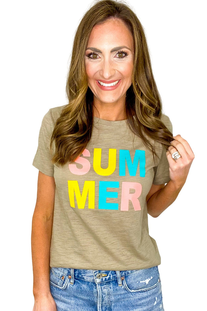 Bold Summer Graphic Tee