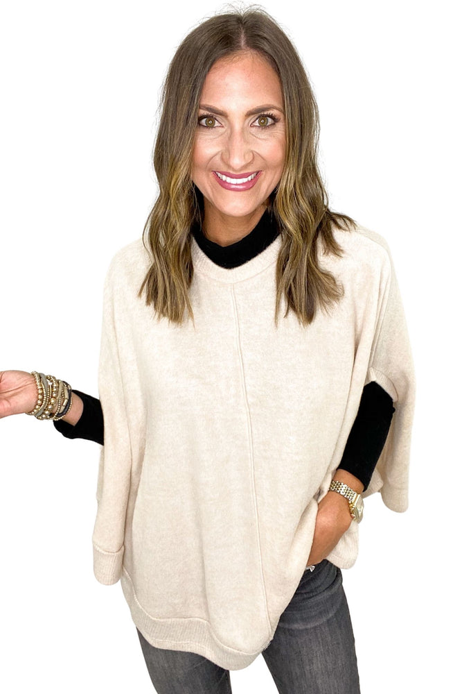 Load image into Gallery viewer, Black Long Sleeve Mock Neck Top