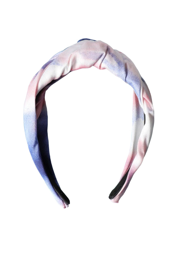 Tie Dye Twist Top Headband