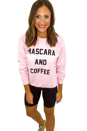 Load image into Gallery viewer, Mascara and Coffee Sweatshirt