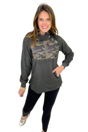 came pullover w/ quilted detail, black leggings, winter wear, shop style your senses by mallory fitzsimmons